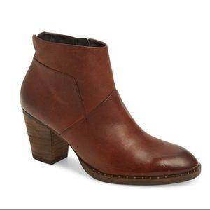 $415 NIB Paul Green Stella Brown Leather Booties